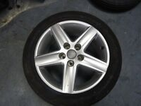 "Alloy wheels 17 "" audi vw skoda seat 5x112"