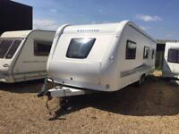 2010 HOBBY PRESTIGE 720 WITH FULL SIZE AWNING FIX BED WE CAN DELIVER ANYWHERE
