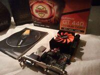 NVIDIA GT44O 3D GRAPHICS CARD PC