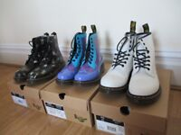 Dr Marten Boots - 3 pairs for sale, hardly worn