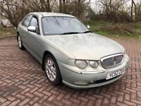 52 REG ROVER 75 2.0 CDT CONNOISSEUR SE 4DR-NOVEMBER MOT-LEATHER-AUTOMATIC-GREAT CAR DRIVES WELL