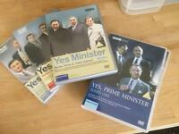 Complete Yes Minister and Yes Prime Minister DVDs, 5 Series