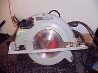 makita circular saw and Makita jigsaw 110v