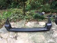REAR BUMPER TO FIT A VW TRANSPORTER T4 1996 - 2003
