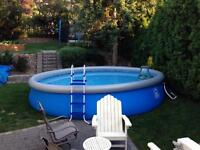 18 ft. above ground pool
