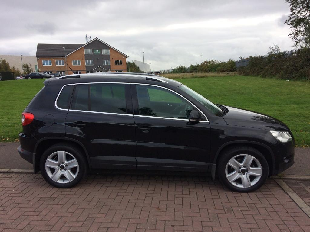 2009 (59) VOLKSWAGEN TIGUAN 2.0 TDI 4 MOTION AUTO / MAY PX OR SWAP