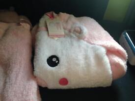 New ladies fleece pyjamas size small