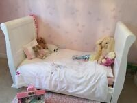 Lovely sleigh cot bed