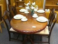 Dining table and 4 chairs #24094 £79