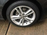 "Vauxhall Insignia 18"" Sri Alloy wheels with expensive tyres"