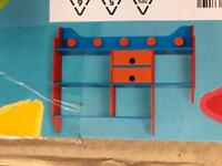 Early Learning Centre wooden shelf
