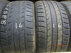 225/50R17 2 ONLY USED MILESTAR A/S TIRES