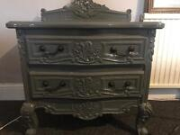 Small chest of draws or large bedside table
