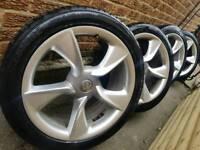 """19"""" vauxhall astra j gtc alloy wheels"""