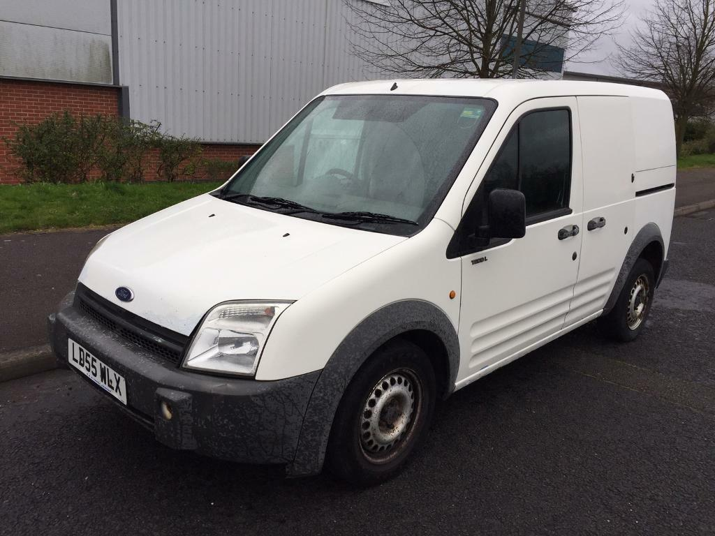2005 55 ford transit connect l200 swb 1 8 td white in. Black Bedroom Furniture Sets. Home Design Ideas