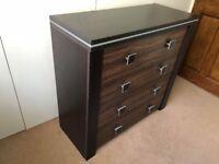 Sideboard 4 drawers storage + 1 Drawer Tv Unit