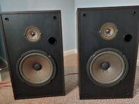 Pioneer Speakers (Pair) : CS-161 - 40W 8ohms : Vintage