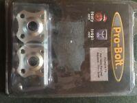 14mm preload adjusters x2 blue /silver + more