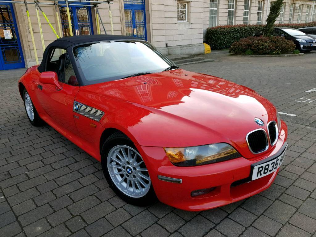 1998 BMW Z3 2.8 Manual Roadster Convertible Full Bmw Service History Up 2  Date