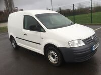 VOLKSWAGEN CADDY 2,0 DIESEL 60 REG 78k! MOT 10 MONTHS TYRE PERFECTDRIVES PERFECTIMMACULATE CONDITION