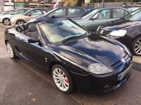 2005/54 MG TF 1.8 135,2 DOOR,CONVERTIBLE,VERY LOW MILEAGE,STUNNING LOOKS,DRIVES REALLY WELL