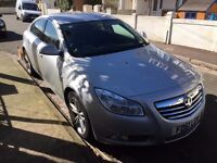Vauxhall Insignia. This car is a lovely family car and has not done many miles.