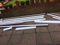 Quantity of MDF Mouldings Polymer Coated Skirting and Architrave