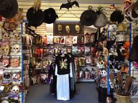 Creative and enthuiastic part-time Sales Assistant for Fancy-dress Shop