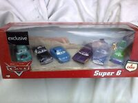 Disney Cars Super 6 set, Woolworths exclusive, characters from the 1st Cars film