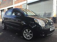 KIA Picanto 2010 1.1 Strike 5 door 2 OWNERS, £30 ROAD TAX, F/S/H, LOW MILEAGE, BARGAIN