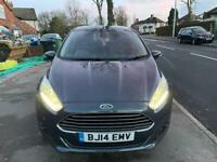 2014 Ford Fiesta 1.0 Titanium EcoBoost Turbo 55k Long MOT £0 Tax Ideal 1st Car!!!