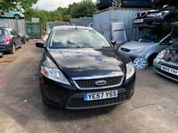 2008 Ford Mondeo Edge 5dr 1.6 Petrol Black BREAKING FOR SPARES