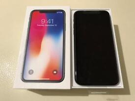 APPLE IPHONE X 64GB**SPACE GREY**NEW WITH APPLE WARRANTY