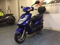 Yamaha NXC 125 Cygnus Automatic Scooter, Givi Back Box, Good Condition, Part ex to Clear