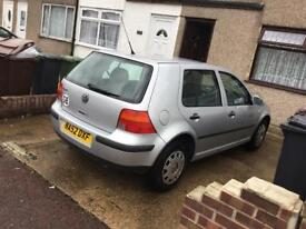 VW GOLF for sale 1.4 Manuel £995 ONO