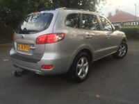 HYUNDAI SANTA FE 2.0 CRDI AUTOMATIC 4x4 1 LADY OWNER not Audi BMW VW Vauxhall ford Renault Citroen