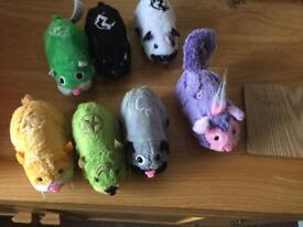 7x zhu zhu pet hamsters
