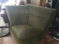 retro corner sofa good condition