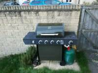 Uniflame 4 burner gas BBQ