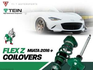 TEIN Flex Z Coilover - 2016+ Mazda Miata MX-5 ND - T1 MOTORSPORTS Markham / York Region Toronto (GTA) Preview