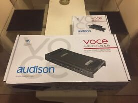 Audison 5.1k 5 channel amp, AV bit in