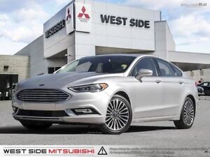 2017 Ford Fusion Titanium-Accident Free-2.0L Ecoboost-Navigation