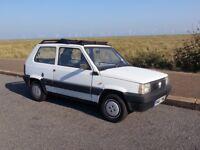 Classic Fiat Panda with Twin Sunroof