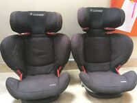 Maxi Cosi High Back Booster Seats with Isofix - Group 2/3, 15-36kg