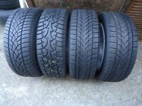 16 x 4 x 16 Alloys and WINTER Tyres VW T- 4 VW Caddy AUDI A3 A4 A5 SHARAN GOLF PCD 5x112