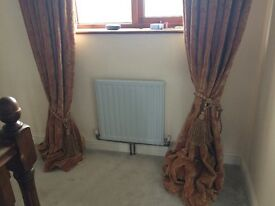 Beautiful very grand curtains full length
