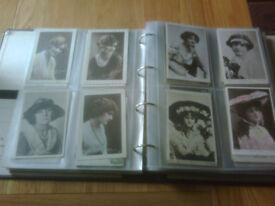 Vintage glamour postcards (380 in total)