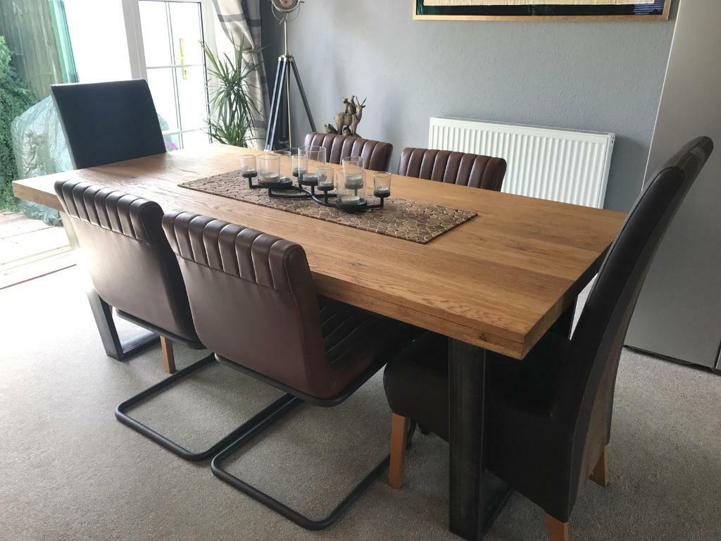 John Lewis Calia 8 Seater Dining Room Table In Frampton