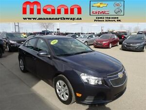 2014 Chevrolet Cruze 1LT - PST paid, Remote start, Cruise contro