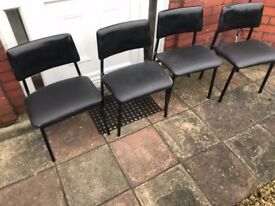 4 matching set of chairs need gone for quick sale need gone ASAP grab a bargain